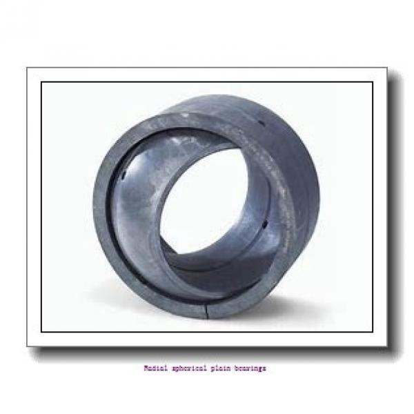 25 mm x 42 mm x 20 mm  skf GE 25 ES-2RS Radial spherical plain bearings #2 image