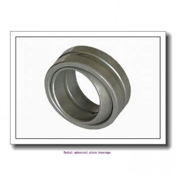 50 mm x 75 mm x 43 mm  skf GEM 50 ES-2RS Radial spherical plain bearings #1 image