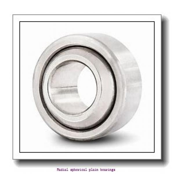 125 mm x 180 mm x 125 mm  skf GEG 125 ES Radial spherical plain bearings #1 image