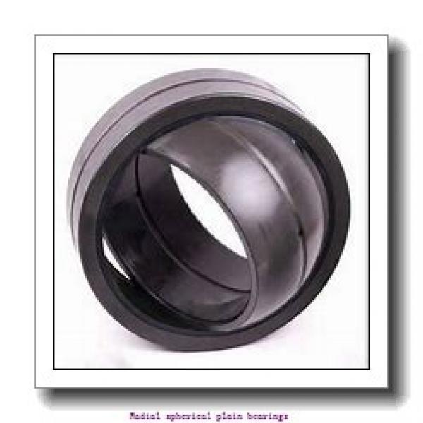 35 mm x 55 mm x 35 mm  skf GEM 35 ES-2LS Radial spherical plain bearings #1 image