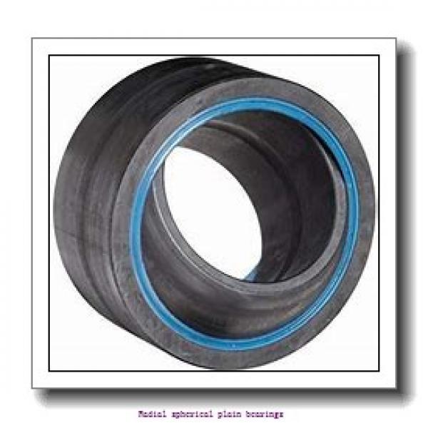 34.925 mm x 55.563 mm x 52.375 mm  skf GEZM 106 ES-2LS Radial spherical plain bearings #2 image