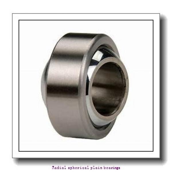 160 mm x 230 mm x 105 mm  skf GE 160 ES/C3 Radial spherical plain bearings #1 image
