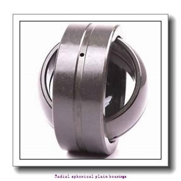 50 mm x 75 mm x 35 mm  skf GE 50 CJ2 Radial spherical plain bearings #1 image
