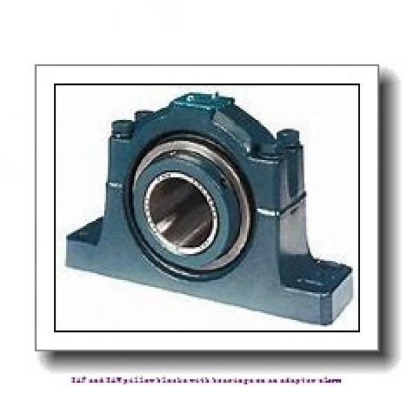 skf SAFS 23040 KA x 7.3/16 SAF and SAW pillow blocks with bearings on an adapter sleeve #1 image