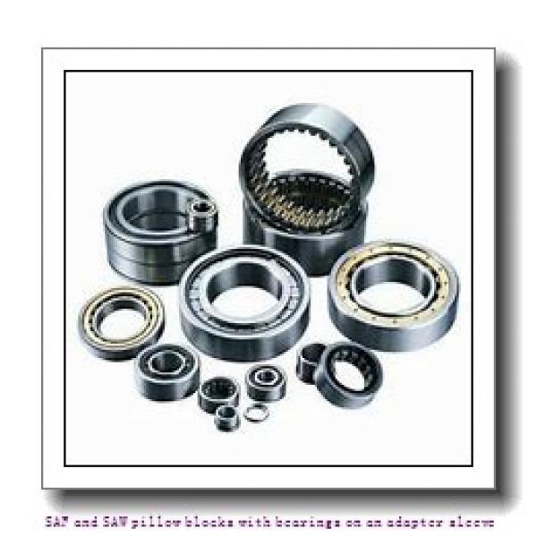skf SAFS 23034 KA x 5.15/16 SAF and SAW pillow blocks with bearings on an adapter sleeve #1 image