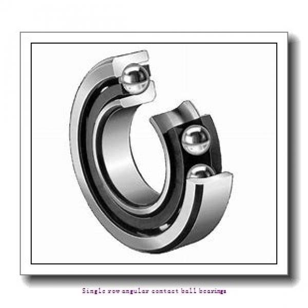 35 mm x 80 mm x 21 mm  skf 7307 BECBY Single row angular contact ball bearings #1 image