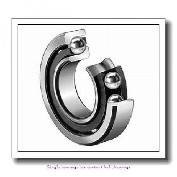80 mm x 170 mm x 39 mm  skf 7316 BEGAP Single row angular contact ball bearings #1 image