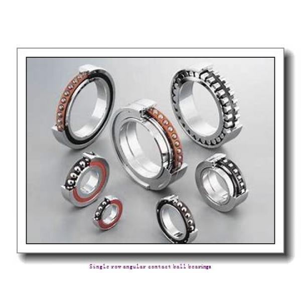 70 mm x 125 mm x 24 mm  skf 7214 BEGAM Single row angular contact ball bearings #1 image