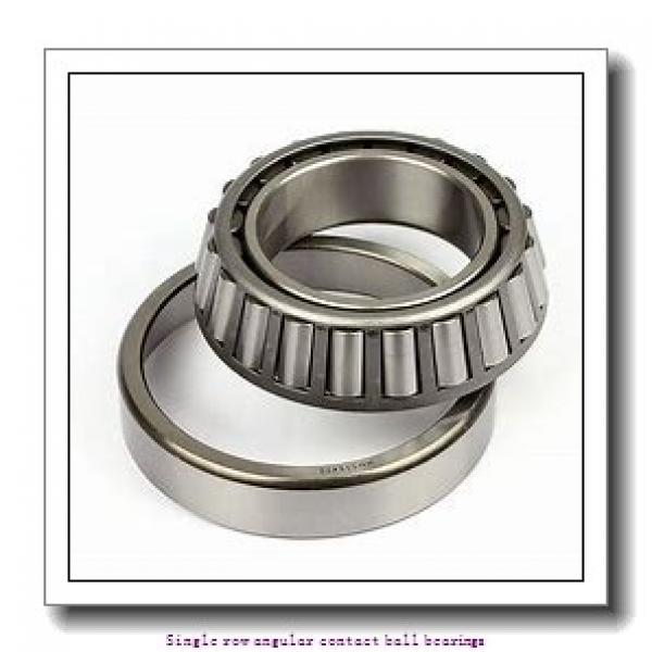 70 mm x 125 mm x 24 mm  skf 7214 BEGAM Single row angular contact ball bearings #2 image