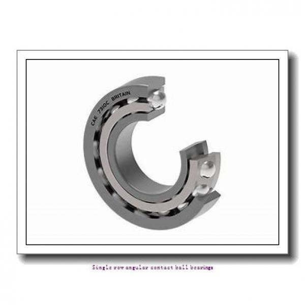 30 mm x 62 mm x 16 mm  skf 7206 BEGAP Single row angular contact ball bearings #2 image