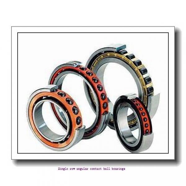 20 mm x 52 mm x 15 mm  skf 7304 BECBM Single row angular contact ball bearings #1 image