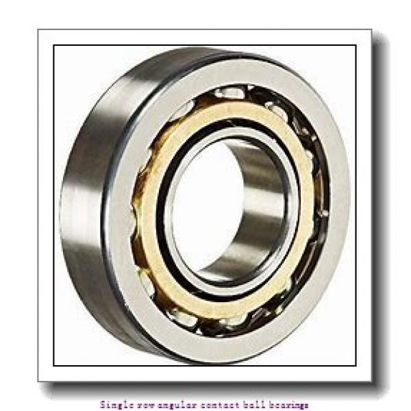 15 mm x 35 mm x 11 mm  skf 7202 BE-2RZP Single row angular contact ball bearings #1 image