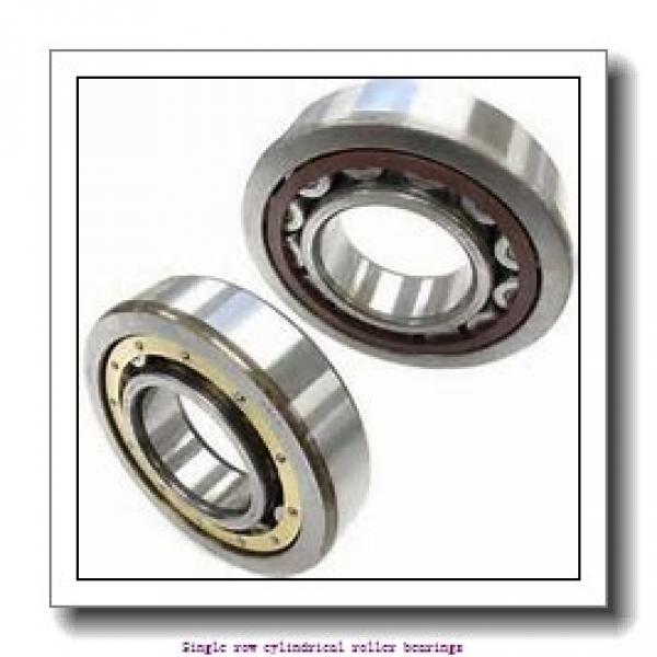 90 mm x 160 mm x 30 mm  SNR NJ.218.EG15 Single row cylindrical roller bearings #1 image