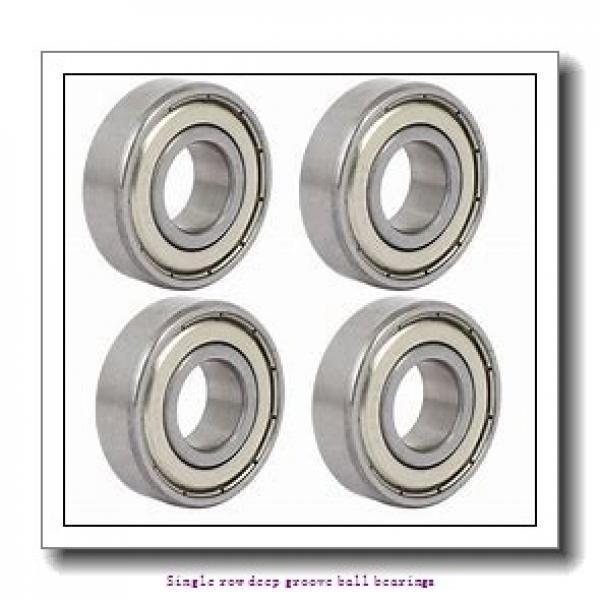 20 mm x 42 mm x 12 mm  NTN 6004LLBCM/L627 Single row deep groove ball bearings #2 image