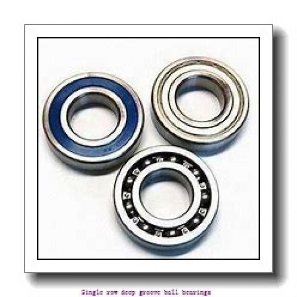 25 mm x 47 mm x 12 mm  NTN 6005 Single row deep groove ball bearings #2 image