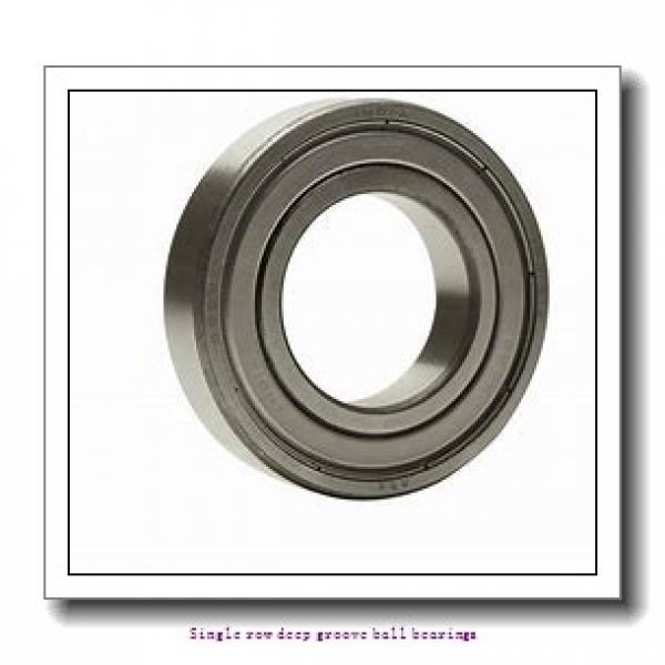 25 mm x 47 mm x 12 mm  SNR 6005.EE/F47/WT Single row deep groove ball bearings #1 image