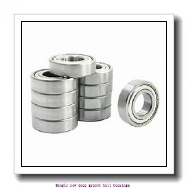 25 mm x 47 mm x 12 mm  SNR 6005.EE/F47/WT Single row deep groove ball bearings #2 image