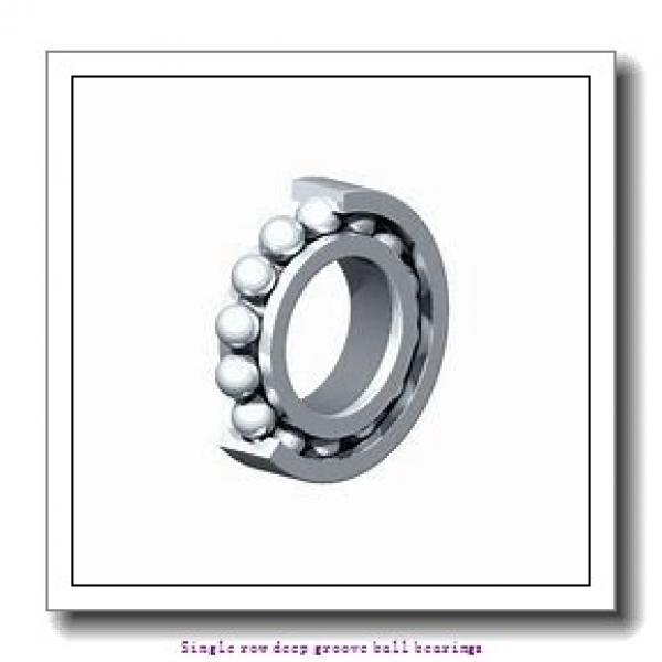 20 mm x 42 mm x 12 mm  NTN 6004CM Single row deep groove ball bearings #1 image