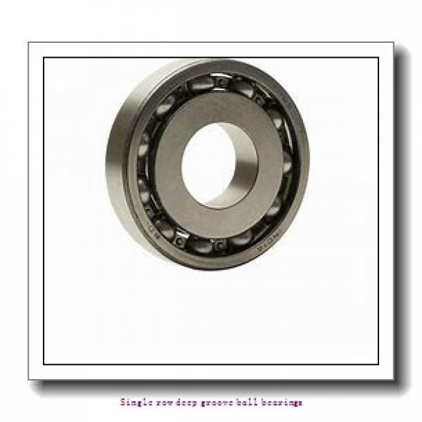 25 mm x 47 mm x 12 mm  NTN 6005 Single row deep groove ball bearings #1 image