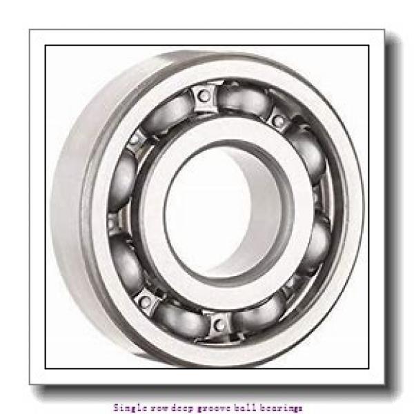 20 mm x 42 mm x 12 mm  NTN 6004LLBC3/L683 Single row deep groove ball bearings #1 image
