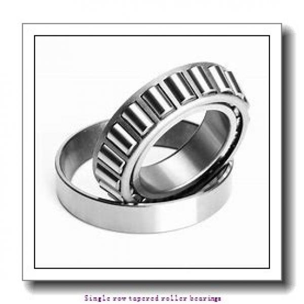 25,4 mm x 57,15 mm x 17,462 mm  NTN 4T-15578/15520 Single row tapered roller bearings #1 image