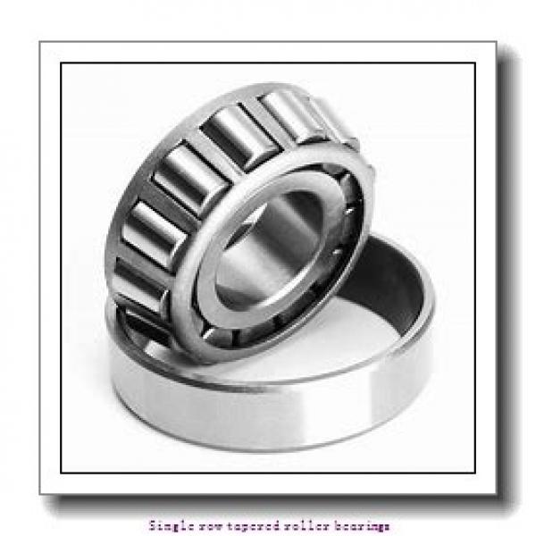 25,4 mm x 57,15 mm x 19,355 mm  NTN 4T-1986/1922 Single row tapered roller bearings #2 image