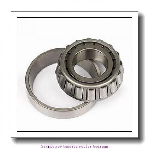 25,4 mm x 62 mm x 20,638 mm  NTN 4T-15100S/15245 Single row tapered roller bearings #2 image