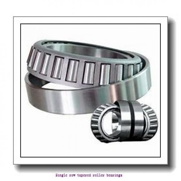 36,487 mm x 73,025 mm x 24,608 mm  NTN 4T-25880/25820 Single row tapered roller bearings #1 image