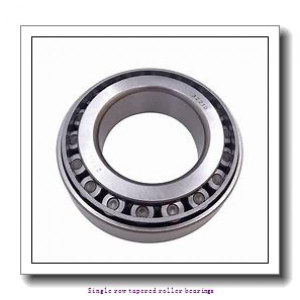 25,4 mm x 57,15 mm x 19,355 mm  NTN 4T-1986/1922 Single row tapered roller bearings #1 image