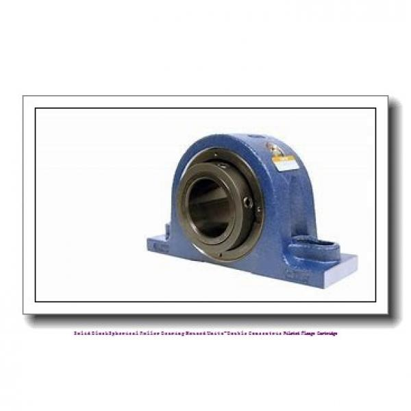 timken QAAC15A211S Solid Block/Spherical Roller Bearing Housed Units-Double Concentric Piloted Flange Cartridge #2 image