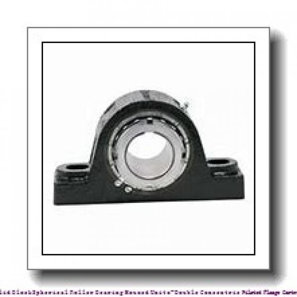 timken QAACW22A407S Solid Block/Spherical Roller Bearing Housed Units-Double Concentric Piloted Flange Cartridge #1 image