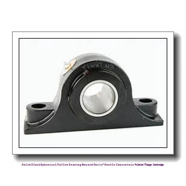 timken QAACW22A115S Solid Block/Spherical Roller Bearing Housed Units-Double Concentric Piloted Flange Cartridge #2 image