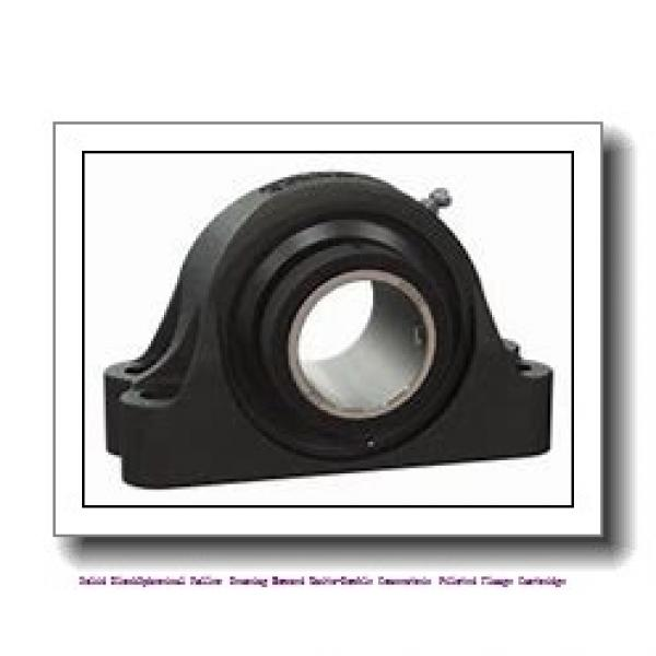 timken QAACW26A500S Solid Block/Spherical Roller Bearing Housed Units-Double Concentric Piloted Flange Cartridge #1 image