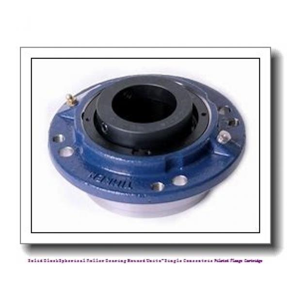 timken QAC15A211S Solid Block/Spherical Roller Bearing Housed Units-Single Concentric Piloted Flange Cartridge #1 image